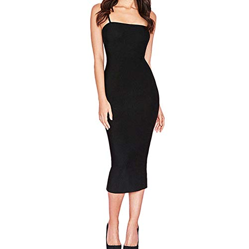 UYSDF Fashion Kleidung Damen Bodycon Schlank Kleid Cocktail Party Clubwear Bleistift Kleid -