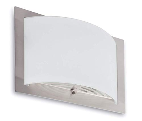 Faro 62986 - Diula-2 lámpara aplique, color níquel mate, 60 W