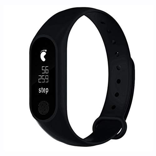 WLPT M2 Smartwatch, Bluetooth Smart Band Armband IP67 wasserdichte Smartwatch Armbanduhr Pedometer Fitness Activity Tracker Pulsmesser (2 PCS)