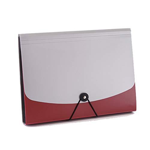 Yxsd Portadocumenti A4 Portadocumenti A4 Portadocumenti Portadocumenti Portadocumenti Archiviazione Archiviazione 13 Custodia (Colore : Rosso)