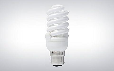 5Pack TCP 15W (= 70W) BC T2 Mini Full Spiral Compact Fluorescent Light Bulb 2700K