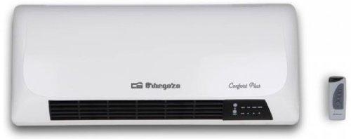 Orbegozo SP5025 - Calefactor split de pared, 2000 W, 2 posiciones, aire frío, cerámico, temporizador