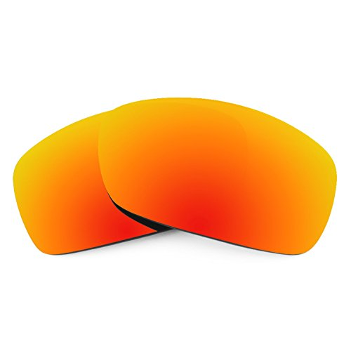 Revant Ersatzlinsen für Oakley Hijinx Feuerrot MirrorShield®