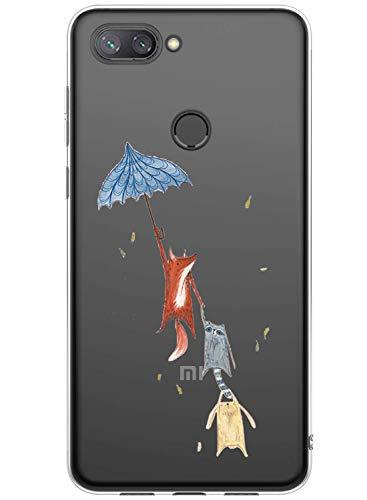 Caler Hülle Kompatibel mit LG K40 Handyhülle TPU Bumper Silikon Transparent Weiche Schlank Schutzhülle Handytasche Gummi Dünn Flexibel Case Handy Soft Back Cover Handytasche -