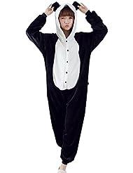 Y-BOA 1Pc Pyjama Combinaison Coton Femme Taille M Forme