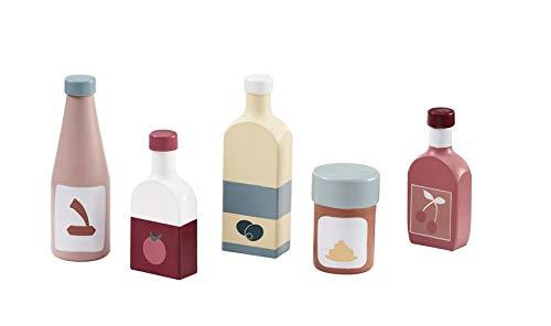 Kids Concept alle anderen Küchenspielzeug ConceptBottle Set 5 Stück, Mehrfarbig (1)
