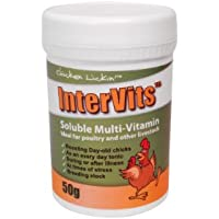 50g Intervits Soluble Multi-Vitamin for Chicken, Chicks, Poultry, Hatching eggs