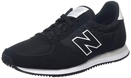 New Balance 220, Zapatillas Unisex Adulto, Negro (Black/White Fix), 42 EU