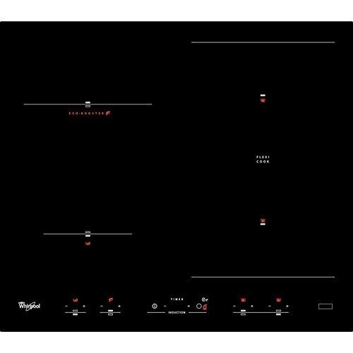 Whirlpool ACM 918/BA Plaque-Plaque (intégré, induction, noir, 1,5m, 7200W, 58cm)