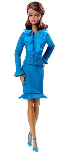 Mattel Barbie DGW57 - Barbie Fashion Model Collection Suit, blau