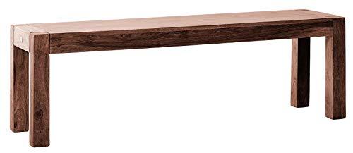 SAM Sitzbank Wales 180 cm Palisander Sheesham Natur, Bank aus massiv Palisander gefertigt