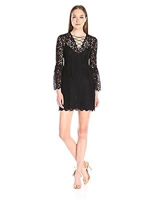 Rachel Zoe Women's Megali Dress, Black, 2
