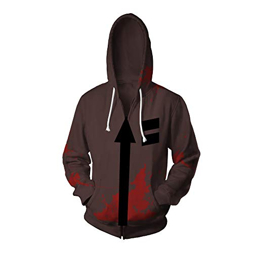 Kostüm Angel Death - BelieveME Zack Jacket Halloween Hot Spiel Isaac Foster Cosplay Kostüm (Large, Farbe 1)