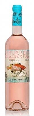 Bicicletas y Peces Rosé Somontano 2016
