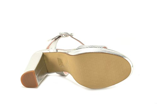 CONBUENPIE  5625,  Damen Schuhe Silber