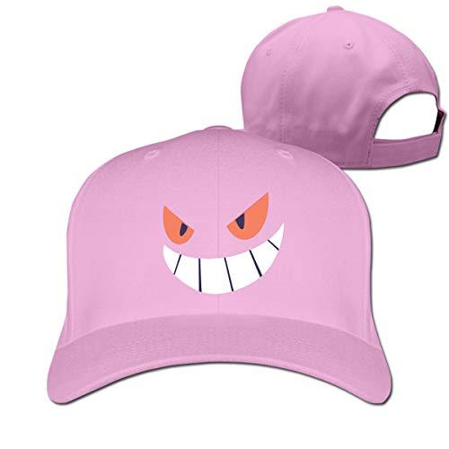 Osmykqe Gengar Halloween Face1 Casual Cotton Baseball Cap Multiple Sport Caps Hat Birthday Gift