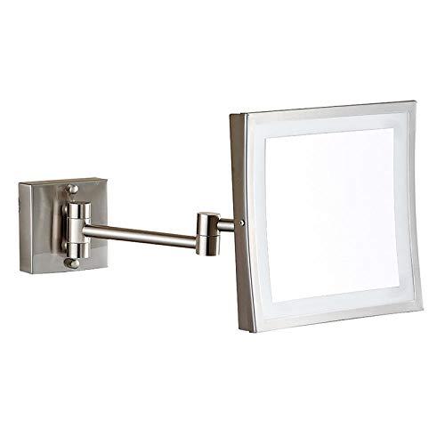 Lampen Nachttischlampen Nachtlichter Buchlampe Tischlampe Edelstahl Klappspiegel Platz Led Kosmetikspiegel Badezimmerspiegel Licht Bad @ Nickel Draht Drawing_200 * 200Mm -