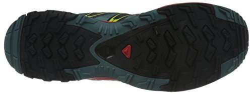 Salomon XA Pro 3D, Chaussures de randonnée homme Gris (North Atlantic/fiery Red/black)