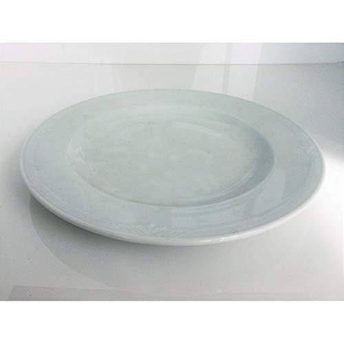 Fimel- Lot de 6 Assiettes Plates en Porcelaine Blanche, modellolario