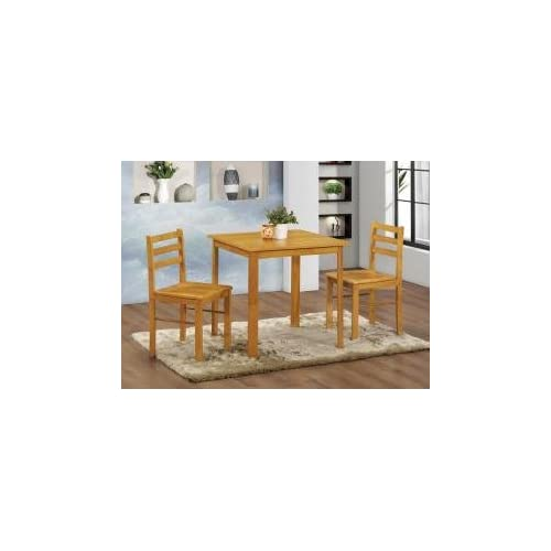 Kelsey Stores Dining Table And Chairs Large Medium and Small Dining Set Ltd (Small Table With 2 Chairs)