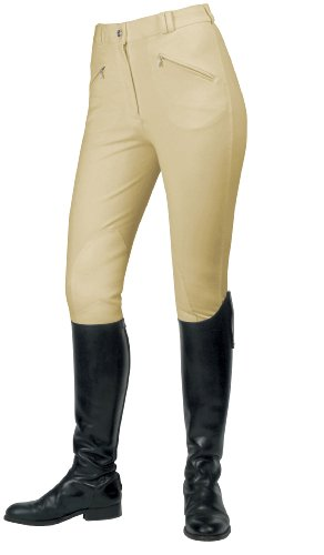 Mark Todd Gisborne Pantalon d'équitation pour femme Beige (Beige)