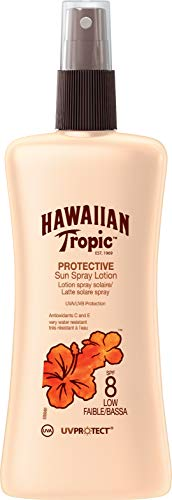 Hawaiian Tropic Satin Protection Sun Spray Lotion Sonnenspray LSF 8, 200 ml, 1 St - Usa Spf 30 Sonnenschutz-creme