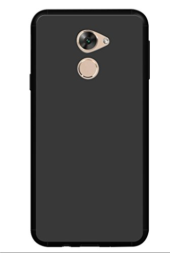 Panasonic ELUGA Mark 2 Cover, Back Cover, Back case, Plain Black Cover, Soft Cover BY CareFone