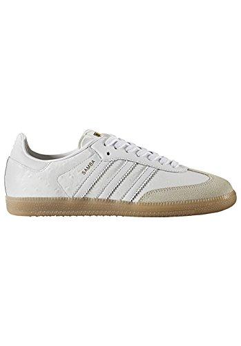 adidas Damen Samba W Fitnessschuhe Weiß Ftwbla/Dormet, 39 1/3 EU