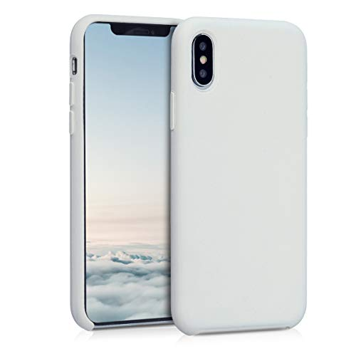 kwmobile Apple iPhone XS Hülle - Handyhülle für Apple iPhone XS - Handy Case in Creme
