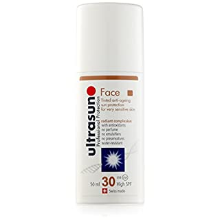 ultrasun Face Tinted Anti-Ageing Sun Protection SPF30 50 ml