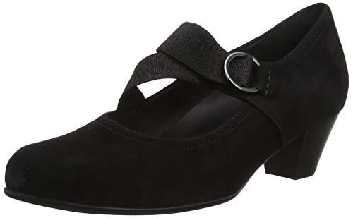 Gabor Shoes Damen Comfort Basic Pumps, Schwarz (Schwarz 47), 40 EU