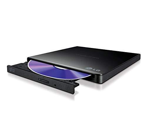 LG GP57EB40.AHLE10B Ultradünne tragbare USB 2.0 DVD-RW - Schwarz