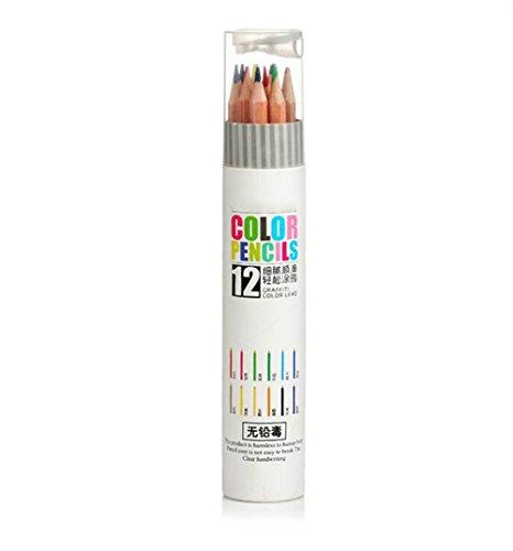 HNBGY Distinctive 12 lápices para Colorear Infantiles de Alta Calidad para niños
