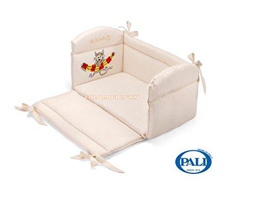 Pali–Reductor Cuna/Cuna Colección limitada (Le Squadre del corazón) crema lupacchiotto