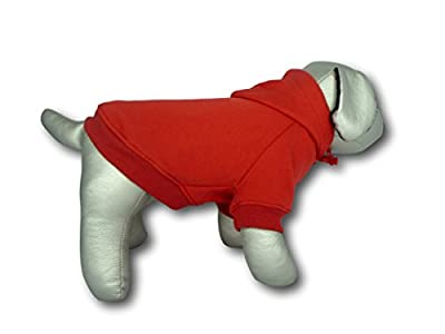 100% Cotton Red Dog Hoodie Hoody Jumper Sweater, Now available in XXL and XXXL (XSmall- XXXLarge)