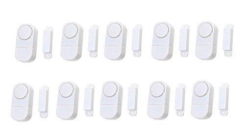Mini-Tr-und-Fensteralarm-Intsun-10er-Minialarm-Wireless-Fensteralarm-Funk-AlarmanlageTralarm-Mit-Knopfbatterien-Home-Security-Sensor-Alarm-System-Mini-Fensteralarm-fr-Fenster-Tren-und-Schrnke