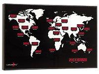 Lunartec Digitale Weltzeit-Uhr mit 24 Weltstädten - 2