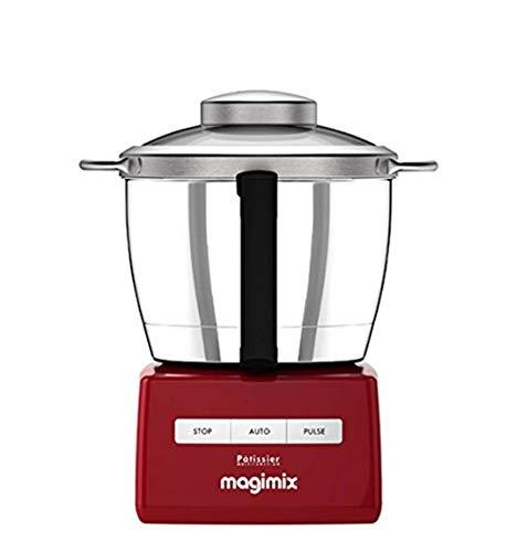Amassador Robot de cozinha Patissier da Magimix - Vermelho