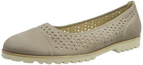 Wildleder Ballerinas Schuhe (Gabor Shoes Damen Jollys Geschlossene Ballerinas, Braun (Visone 12), 40 EU)