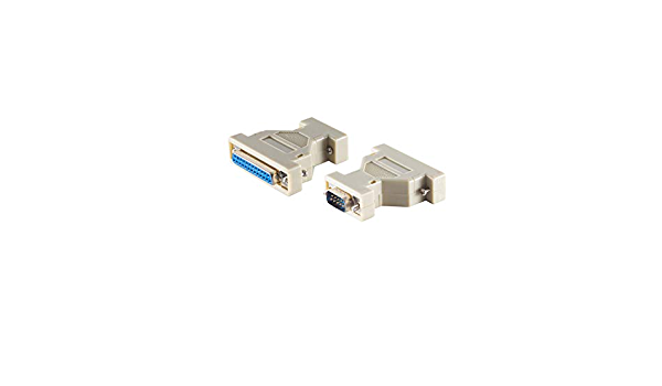 S//CONN maximum connectivity Modem-Kabel 9pol Sub D-St//25pol Sub D-Buchse 3m