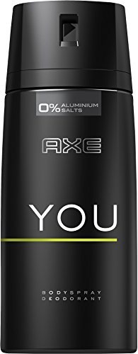 Axe Deospray You ohne Aluminium, 6er Pack (6 x 150 ml)