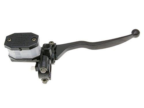 Universale Bremspumpe / Bremszylinder / Hauptbremszylinder rechts mit Bremshebel für Roller, Moped, Mokick, Motorrad, Quad & ATV