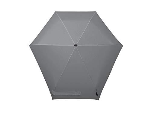 Senz° Mikro Regenschirme Nie Aus Der Mode Faltbare Schirme - Silk Grau