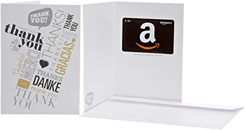 Tarjeta Regalo Amazon.es - €30 (Tarjeta de felicitación Gracias global)