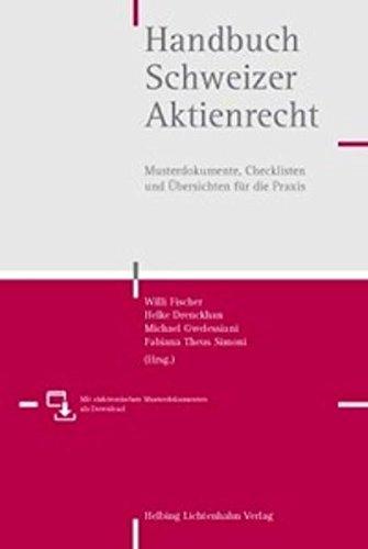 handbuch-schweizer-aktienrecht-musterdokumente-checklisten-und-ubersichten-fur-die-praxis