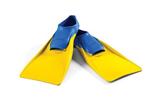 FINIS Uni Swim Fin Floating, blue/yellow, XS, 1.05.037.03