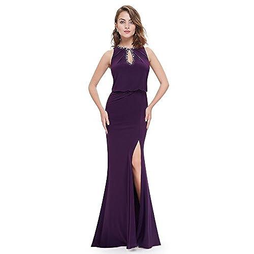 Purple Prom Dresses: Amazon.co.uk