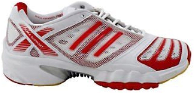 Adidas 6 3 1 CC Climacool Hallenschuhe Indoor weiß/rot  Größe:38