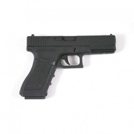 Cyma G18 - Pistola eléctrica para airsoft, tipo Cm030 (0,5 J), negra