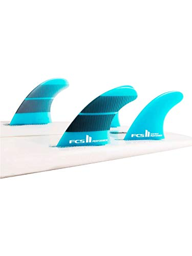 FCS Surf Finne II Performer Neo Glass Medium Quad Finne